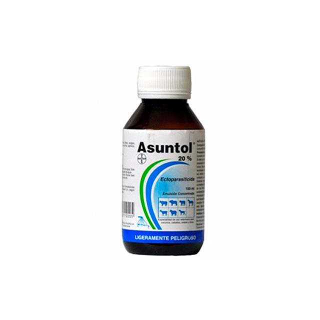 Agropecuaria Marroquín Asuntol Liquido 100 mL ´Su venta requiere receta medica cuantificada´