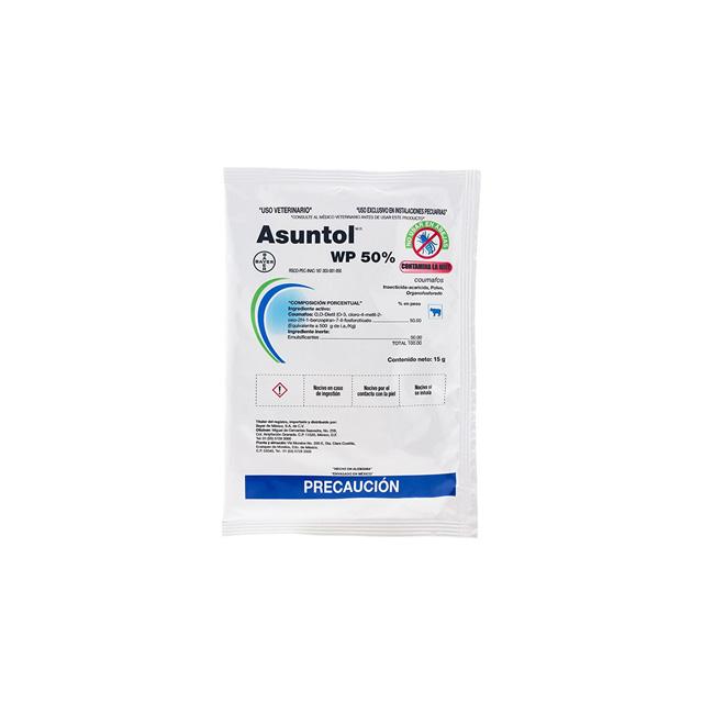 Agropecuaria Marroquín Asuntol WP 50% 15 g ´Su venta requiere receta medica cuantificada´