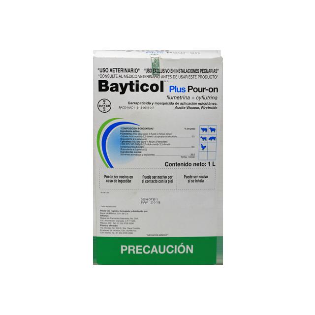 Agropecuaria Marroquín Bayticol pour on plus 1 Lt