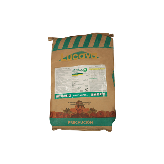 Agropecuaria Marroquín Azufre perfecto 93% 25 Kg